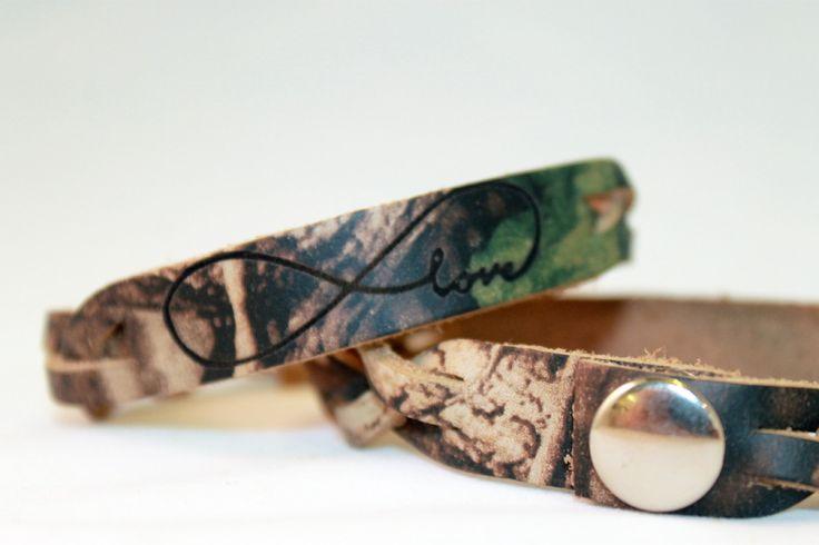 Camo Infinity Love Bracelet