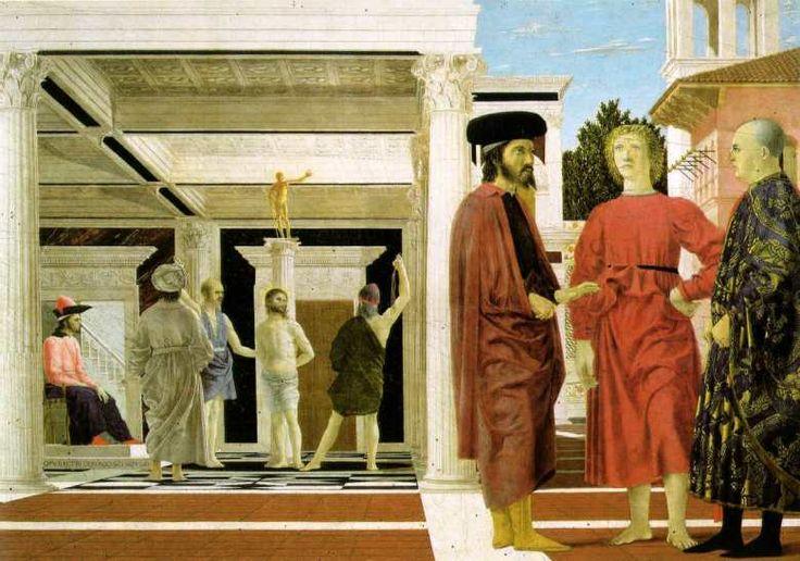 Piero Della Francesca, Flagellazione di Cristo