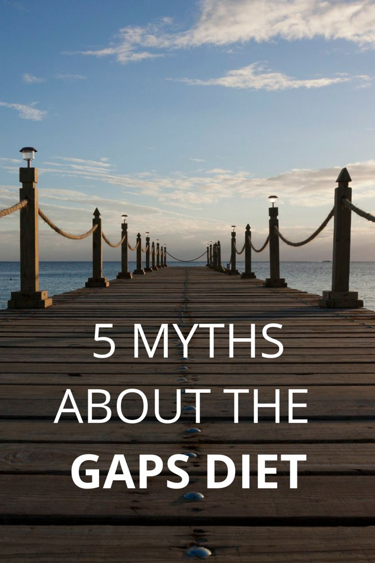 5 Myths About The GAPS Diet - Honest Body
