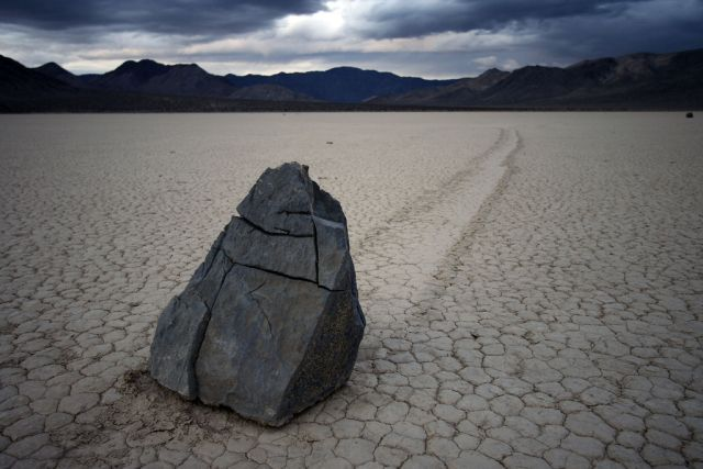 Sailing stones. Its a rock...a big, beautiful, old rock! Oh the pioneers used to ride these babies ALL over the sea bottom! -Spongebob :)