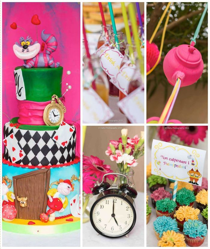 Alice in Wonderland Birthday Party via Kara's Party Ideas KarasPartyIdeas.com (4)