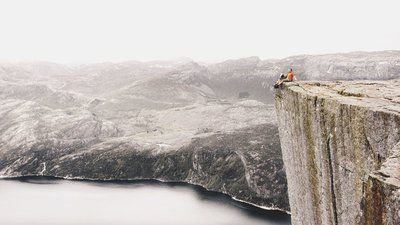 Majestic Photos Show What It's Like To Sit At The Edge Of The World