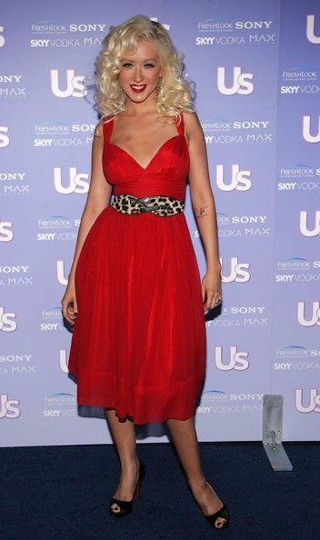 Christina Aguilera Photos: US Weekly's Hot Hollywood: Fresh 15 - Arrivals