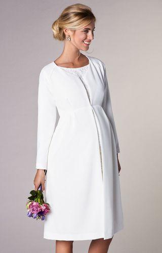 Für Hochzeiten an etwas kälteren Tagen.. Dieser Weddingcoat <3 !! WE LOVE