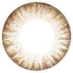 Vassen Rainbow Eyes Brownish Hazel Circle Lenses (Colored Contacts)