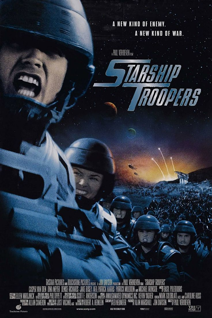 STARSHIP TROOPERS - the way a B,C,D movie should be done.