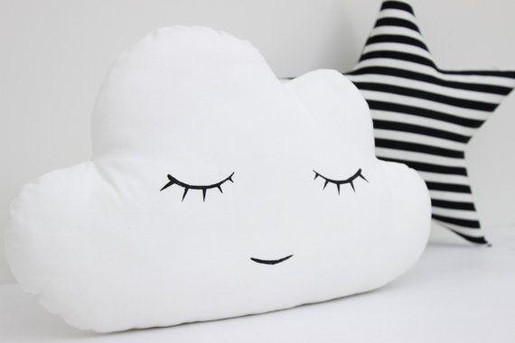 Nuage blanc oreiller coussin nuage blanc Kids par ProstoConcept