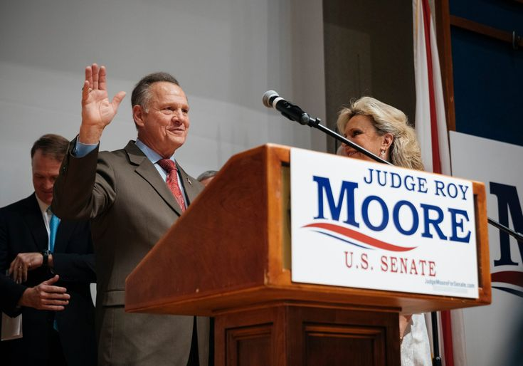 Roy Moore Loses Sanity Reigns