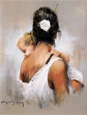 Cayetano de Arquer Buigas (Spain, born 1932) 'Mother and child'