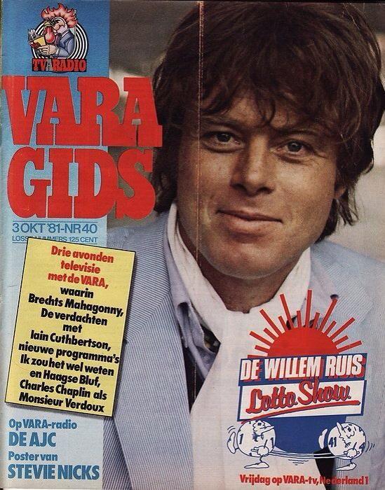 L- Willem Ruis (Haarlem, 29 maart 1945 - Spanje 4 augustus 1986)