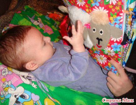 """Развивающая книжка """"Домашние животные"""" - Игрушки своими руками - Страна Мам"""