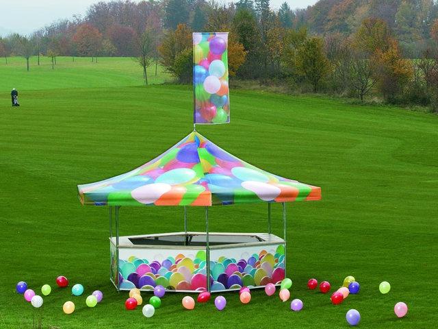 Our hexagonal pavilion: the ideal stand for events or markets!  http://www.mastertent.com/en/pavilion/pavilions-706.html