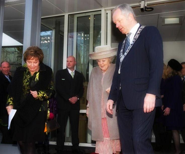 Opening van de Hanzelijn in 2012 met (toen nog Koningin) Beatrix. #Koninklijk #bezoek #Zwolle