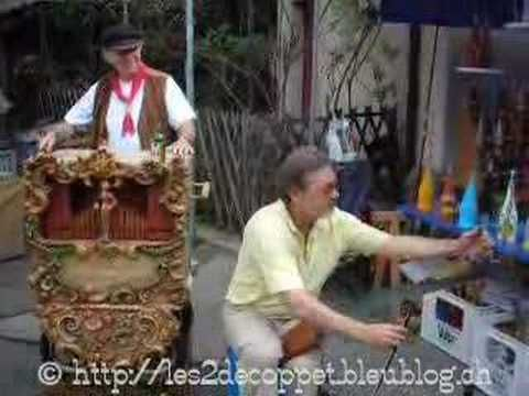 Concerto pour orgue de barbarie et scie musicale...