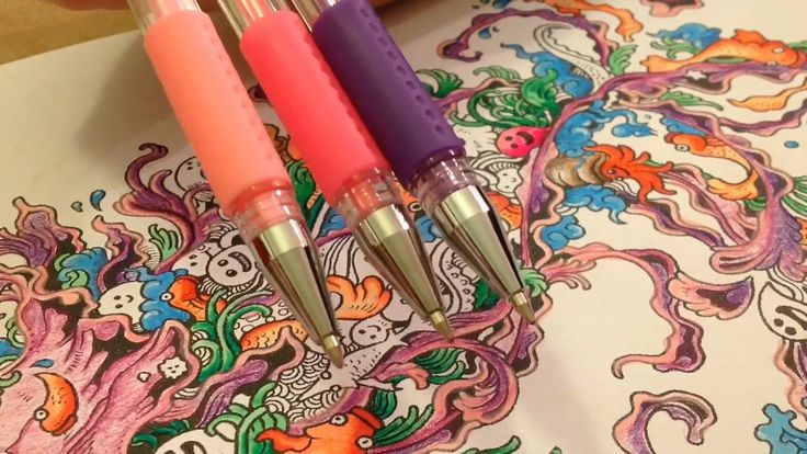"""This is """"Blending & Shading w/ Gel Pens"""" by Anna Lee Sanders on Vimeo, the home for high quality videos and the people who love them."""