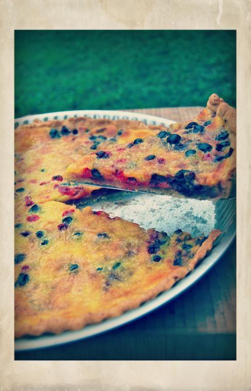 Blackcurrant & Redcurrant Tart