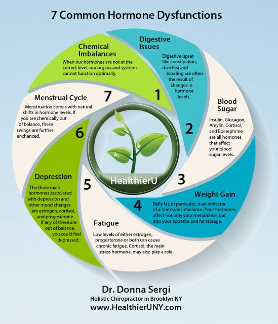 Learn How Chemical Imbalances, Digestion, Blood Sugar, Unexplained Weight Gain, Fatigue, Depression, and Menstrual Cycle Difficulties are Related to Your Hormones from Dr. Donna Sergi, Brooklyn Chiropractor: https://www.healthieruny.com/hormonal-imbalance-remedies-brooklyn-ny