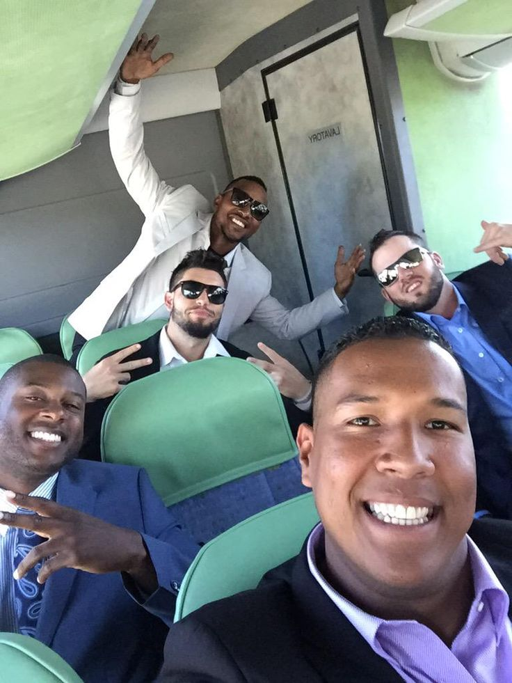 Heading to the airport after the final Spring Training game. Only 4 days left until Opening Day!