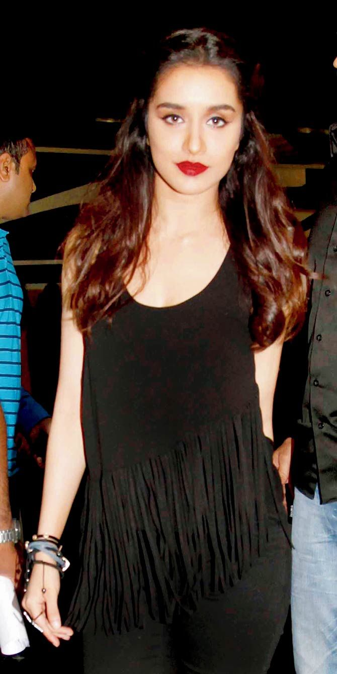 Shraddha Kapoor at a promotional event. #Bollywood #Fashion #Style #Beauty