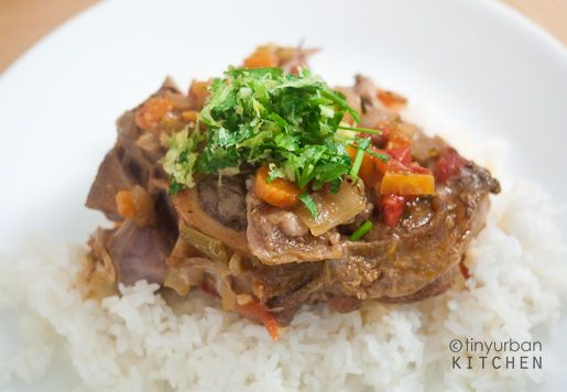 veal osso bucco! (make with saffron risotto instead of just plain white rice)