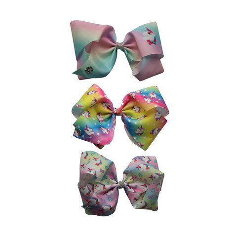 JoJo Siwa Deluxe Large Unicorn Bow - Assorted | Kmart