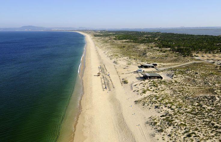 Comporta, un secreto portugués |La playa de Comporta se extiende a lo largo de 60 kilómetros al sur de Lisboa, en Portugal.