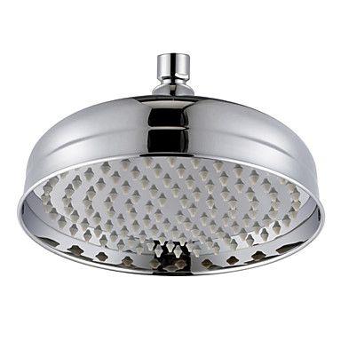 34 € Kaufen (EU Lager)Modern 8 Zoll Messing Regen Duschkopf Chrom Oberfläche mit Günstigste Preis und Gute Service!