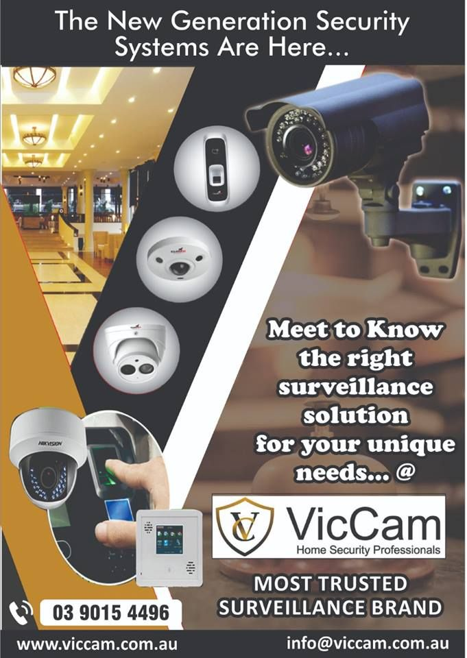 Best Home Security Cctv Camera System In Melbourne Viccam Home Security Wireless Security System Security Camera System