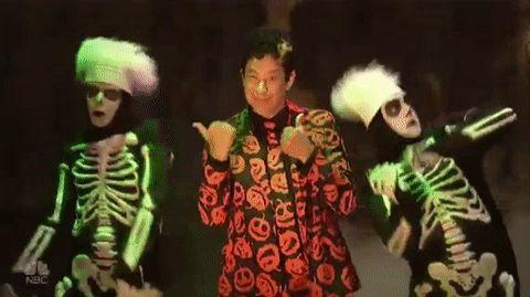 New party member! Tags: snl saturday night live episode 4 tom hanks snl 2016 season 42 david s pumpkins david s pumpkin david pumpkin