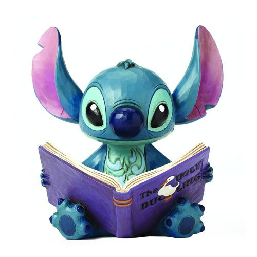 Lilo & Stitch Storybook Disney Traditions Statue - Enesco - Lilo & Stitch - Entertainment Earth