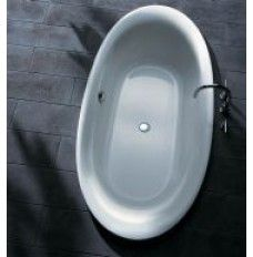 Porsgrund Continental ovalt badekar 1800. 15000