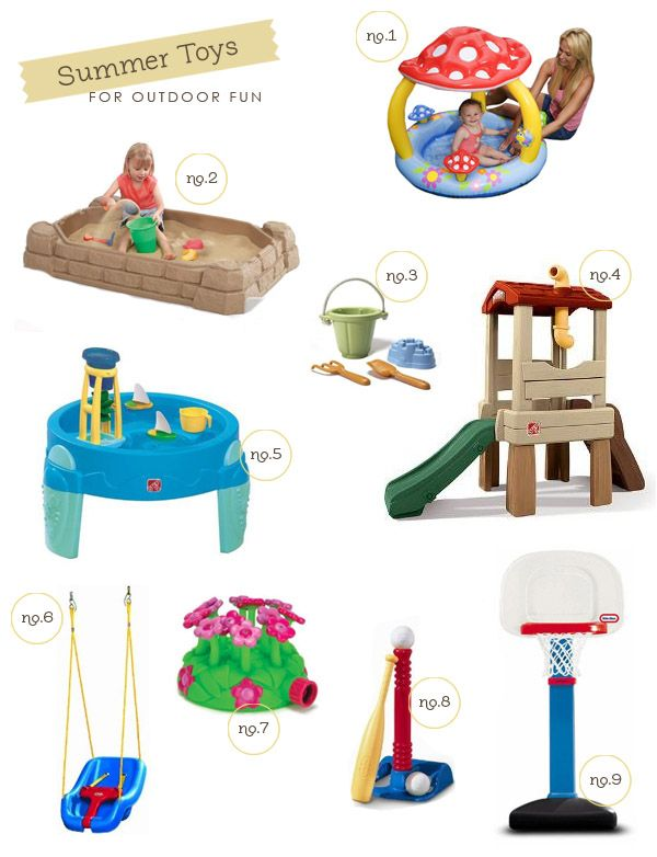 17 Best Ideas About Toddler Outdoor Toys On Pinterest