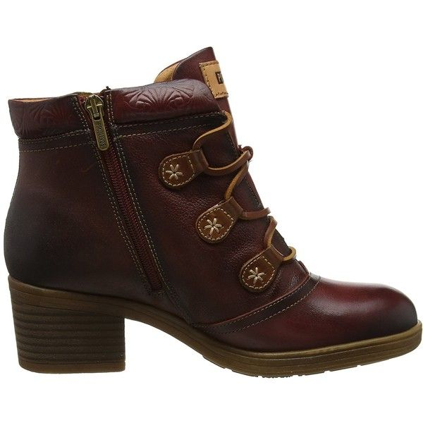 Pikolinos Lyon Hiker Women's Boot ($140) ❤ liked on Polyvore featuring shoes, boots, pikolinos shoes, wide fit shoes, wide shoes, wide boots and wide width boots