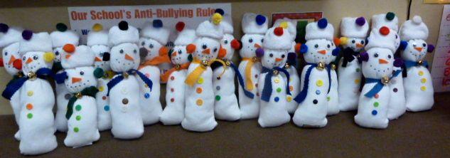 December - Sock Snowman w/ instructions and shopping list.  tunstalltimes.blogspot.com