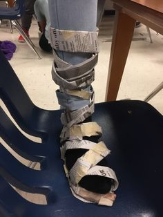 Newspaper shoe challenge! One day team building for my 5th and 6th graders. Great end of the year activity with a fashion show at the end of the hour. Uses minimal supplies.