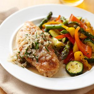 Sauteed Chicken Breasts with Simple Chive Sauce.. 30 minute meals