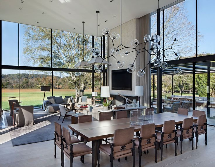 457 best images on pinterest dining room architecture and spaces - Lindsey adelman chandelier knock off ...