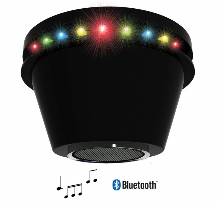 Disco LED Partylamp met Bluetooth Speaker