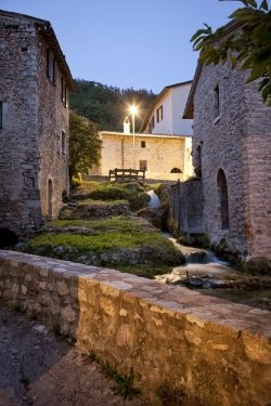 Residence Menotre in Rasiglia Umbria: a romantic holiday to relax in Umbria Italy