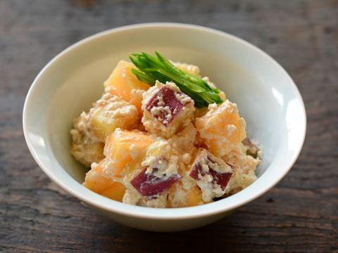 柿とさつまいもの白和え  https://recipe.yamasa.com/recipes/1865