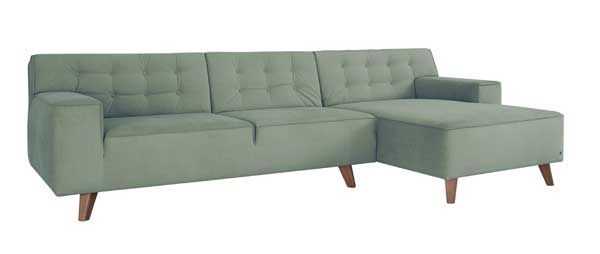 Skandinavische Eckcouch Zweisitzer Sofa Modul Sofa Couch