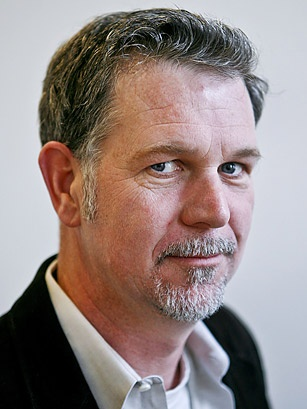 Reed Hastings-founder of Netflix, former  Marine and Peace Core Volunteer