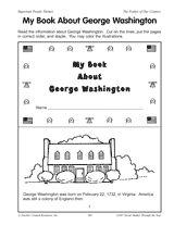 Create a mini-book of George Washington to celebrate his birthday this Presidents' Day.