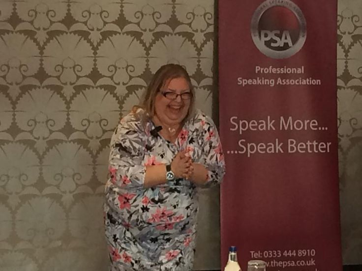 Speaking at the Professional Speaking Association in Ireland - I think we were in the middle of a Laughter Yoga Session! :) http://happiness-speaker.co.uk