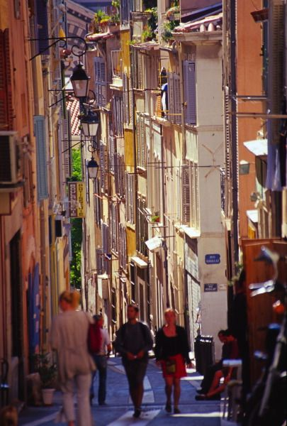 Streets of Marseilles, France