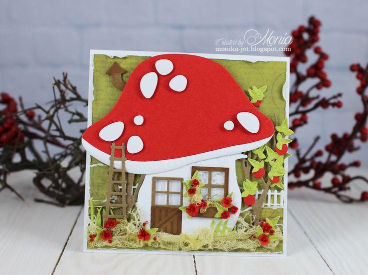 Mushroom+card - Scrapbook.com
