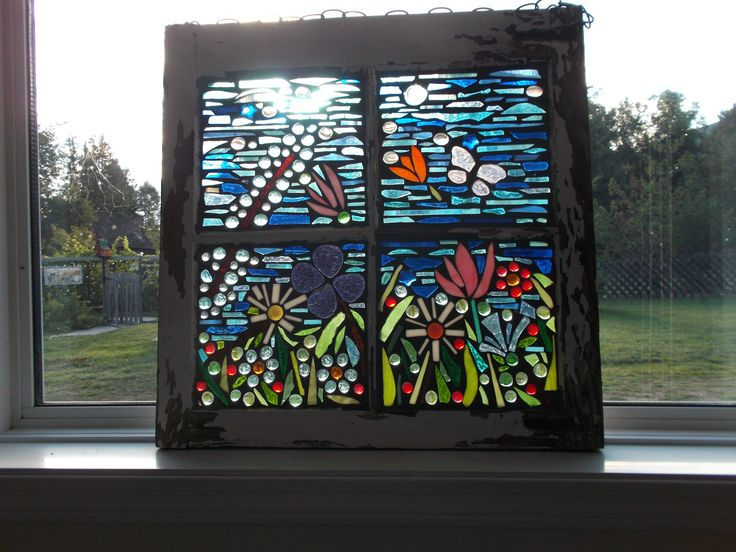 https://flic.kr/p/wL7h84   stained glass mosaic flowers   stained glass mosaic flowers