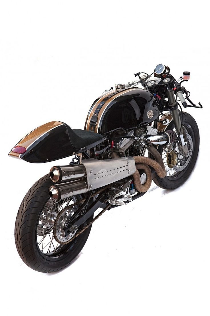 Harley Cafe Racer by Deus Ex Machina