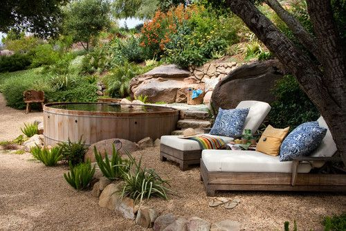Exceptional garden oasis in Santa Barbara, CA. Margie Grace - Grace Design Associates.
