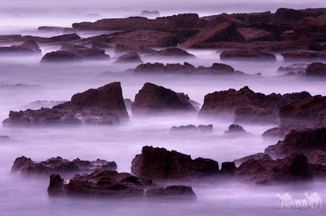 Magic sea, Itzurun beach, Zumaia, Basque Country.